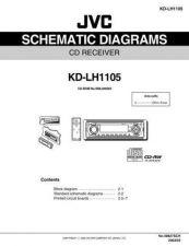 Buy JVC KD-LH1105 schem Service Schematics by download #156099