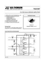 Buy MODEL TDA7297 Service Information by download #124789
