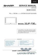 Buy Sharp 32JF73E-EES SM GB(1) Manual.pdf_page_1 by download #178251