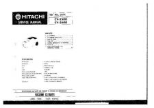 Buy HITACHI No 387E Service Data by download #151034