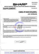 Buy Sharp CMSR600X-XT SM GB Manual by download #180173