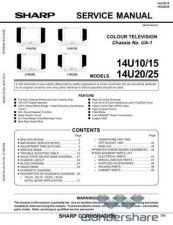 Buy Sharp 14U10-14U15-14U20-14U25 SM GB(1) Manual.pdf_page_1 by download #177771