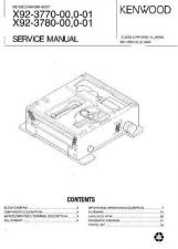 Buy KENWOOD X92377000001 X92378000001 Service Manual by download #148353