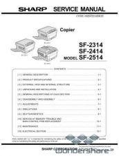 Buy Sharp 89 SF-2414 SM Manual.pdf_page_1 by download #178917