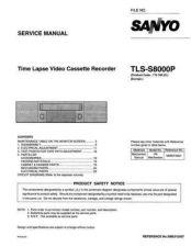 Buy Sanyo TLS-S7000P ProdChange Manual by download #177278