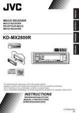 Buy JVC XM448BK MANUAL by download #126614