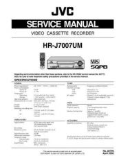 Buy JVC HR-J7007 TECHNICAL DATA by download #131046
