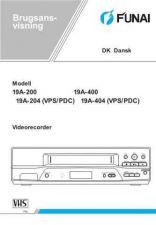 Buy Funai 19A-200 204 400 404(DK) Manual by download #160822
