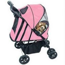 Buy Pet Gear Happy Trails Pet Stroller with Weather Cover