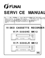 Buy Funai VIP-5000LR MK12 (U22 H85G5PD) SERVICE MANUAL Manual by download #163173