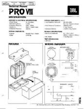 Buy INFINITY PRO VIII TS Service Manual by download #147627