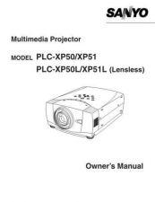 Buy Sanyo PLCXP07N Manual by download #174900