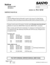 Buy Sanyo PLC-XE20-01 Manual by download #174852