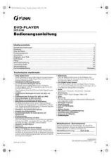 Buy Funai DVP-6100 E612AED(IT) 1221 3 Owners User Guide Operating by download #16215