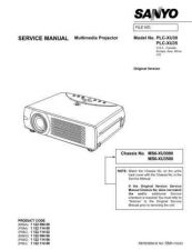 Buy Sanyo PLC-XP51 Manual by download #174946