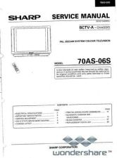 Buy Sharp 70AS06S SM GB(1) Manual.pdf_page_1 by download #178811