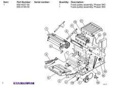 Buy Xerox 850 FRU840-2 Service Manual by download #139478