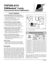 Buy SEMICONDUCTOR DATA TOP200-214J Manual by download Mauritron #191302