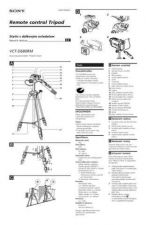 Buy SONY VCT-D680RM-CZ OPERATING GUIDE by download #167242