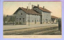 Buy GER Schleusingen Bahnhof View Across Tracks Small Station w/Schleusingen I~135