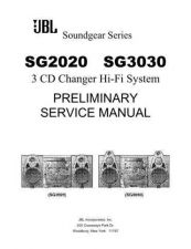 Buy INFINITY SG3030 PRELIMINARY SM Service Manual by download #147801