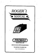 Buy Amprobe ROGER1 Operating Guide User Instructions by download Mauritron #194504