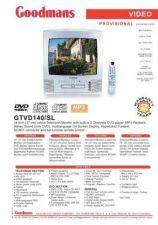 Buy GOODMANS GTVD140 SL by download #125474