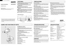 Buy Sanyo VCC-6585P Operating Guide by download #169608