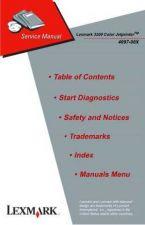 Buy LEXMARK 3200 (4097) COLOR JETPRINTER SERVICE MANUAL by download #152205