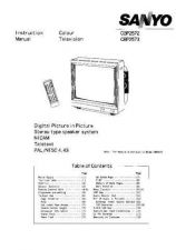 Buy Sanyo CBP257 Manual by download #171350