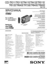 Buy SONY CCD-TR805 Service Manual by download #166459