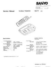 Buy Sanyo Service Manual For CB5153 SM-Only Manual by download #175555
