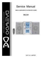 Buy DAEWOO SM RG-341 (E) Service Data by download #146939