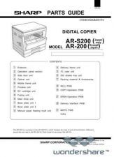 Buy Sharp 116 AR-200 PARTS Manual.pdf_page_1 by download #177671