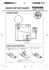 Buy Toshiba VTV1416 Manual by download #172527