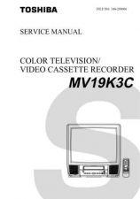 Buy TOSHIBA MV19K3C Service Schematics by download #160252
