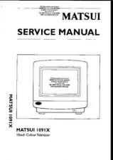 Buy Matsui 1091X A4210 Service Manual by download #154027