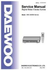 Buy DAEWOO SM DHC-XD500 (E) Service Data by download #150220