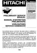 Buy HITACHI No SM00018E Service Data by download #147410