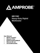 Buy Amprobe HD110C User Instructions Operating Guide by download Mauritron #194374