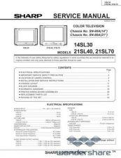 Buy Sharp 14SL30-21SL40-21SL70 SM GB(1) Manual.pdf_page_1 by download #177767