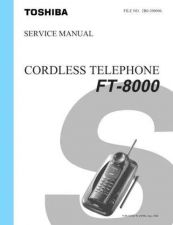 Buy TOSHIBA FT 8000 Service Schematics by download #160114