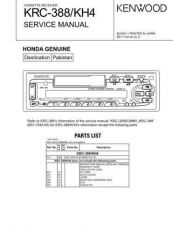 Buy KENWOOD KRC-33R 378R RY 480R Technical Info by download #151944