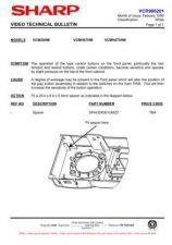 Buy Sharp VCMH67HM-021 Service Schematics by download #159083