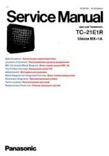Buy MODEL TC21E1R Service Information by download #124635
