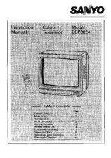 Buy Sanyo CBP302 Manual by download #171366