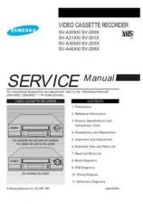 Buy Samsung SV A20XK SEC41226101 Manual by download #165848