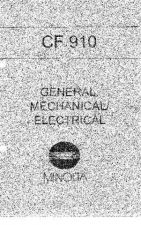 Buy Konica GENERAL MECHANICAL ELECTRIC Service Schematics by download #136424