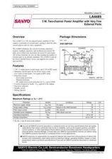 Buy SEMICONDUCTOR DATA LA4485J Manual by download Mauritron #188680