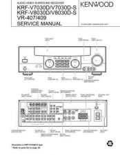 Buy KENWOOD KRFV5050 KRFV5550 KRFV6050 KRFV7050 KRFX9050 Service Manual by download